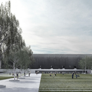 Competition for the City Stadium in Lodz